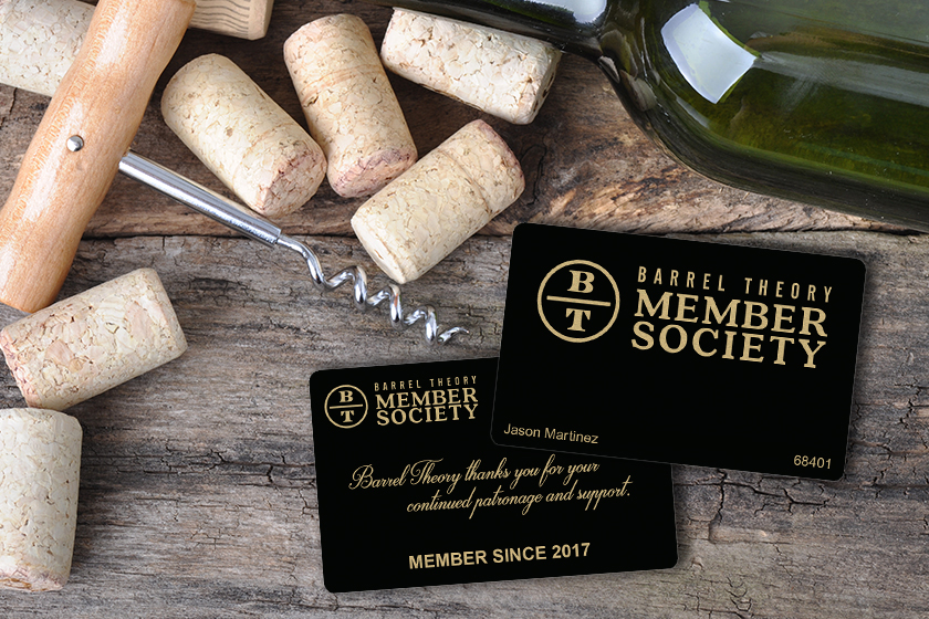 Membership cards for a brewery