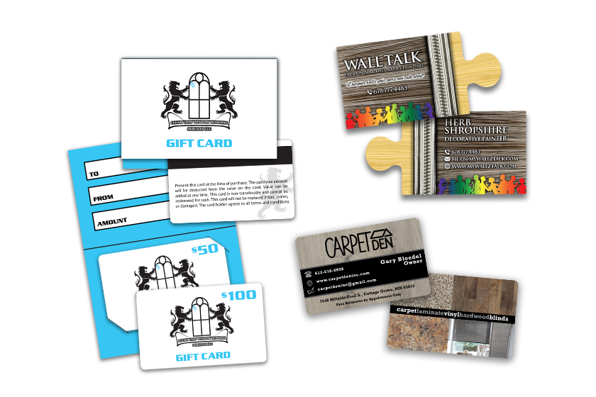 Gift Cards, Business Cards & So Much More