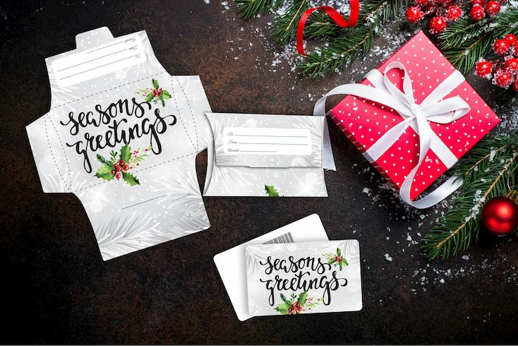 Holidays - Seasons Greetings Holly