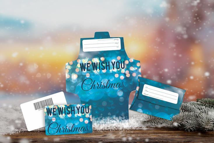 Christmas - We Wish You A Very Merry Christmas Lights