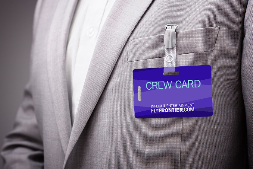 Crew Card for an airline