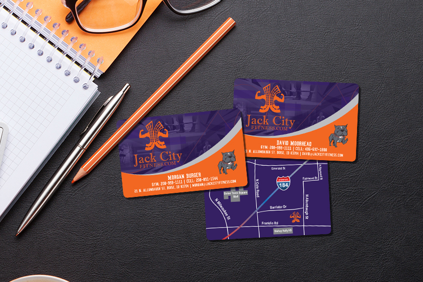 Amazing business card design from Plastic Printers