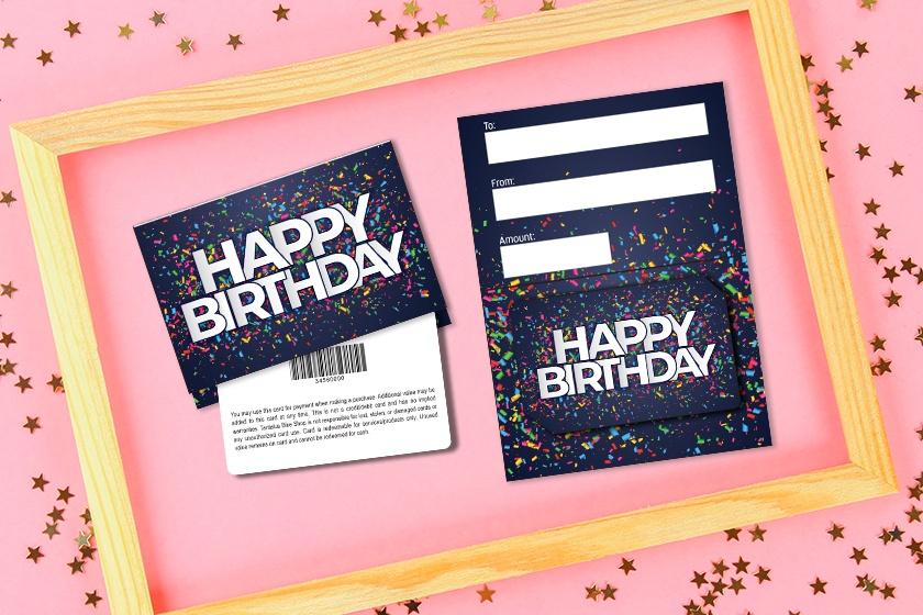 Birthday - Happy Birthday Confetti