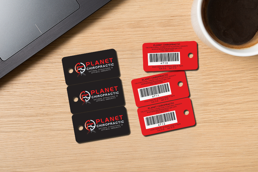 Membership key tags for a chiropractor