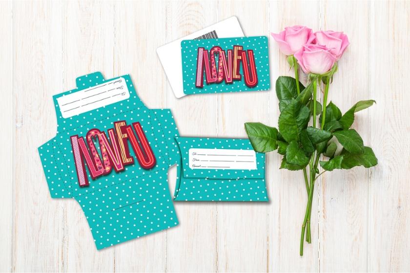 Valentine's - I Love You Polka Dots