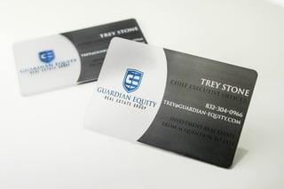 Premium Real Estate Business Cards