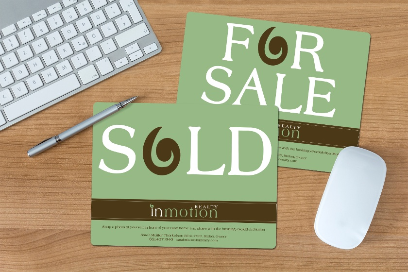 Real Estate Signs printed by Plastic Printers
