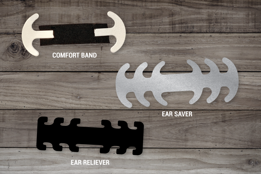 Ear guards come in multiple styles
