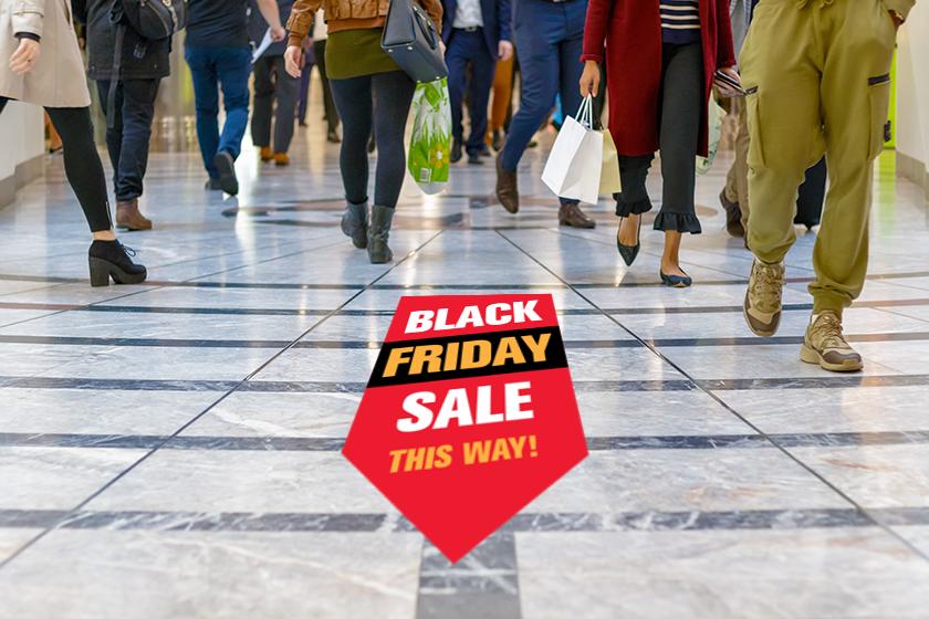 Black Friday signs