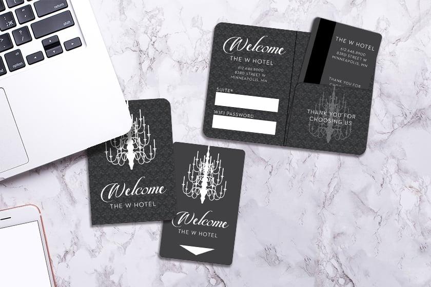 Hotel Key Card Holder Printing