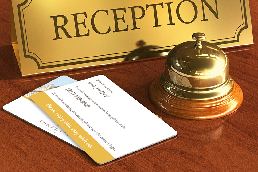 Hotel Key Card Design Options