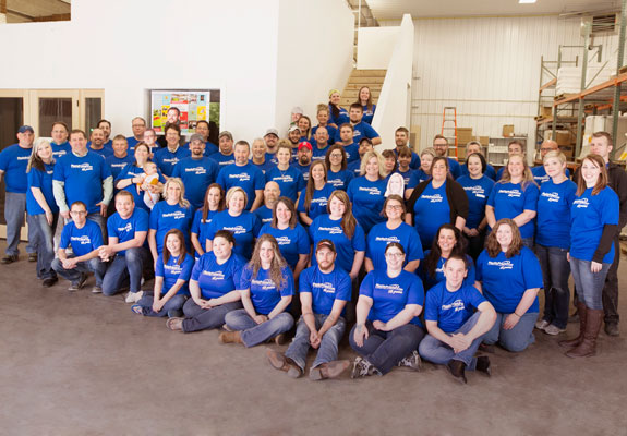 The entire plastic printers team