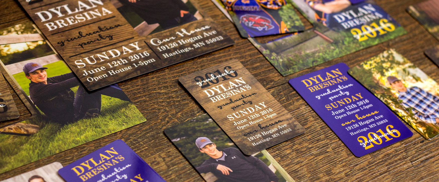Graduation Invitations that can be customized to your Graduate!