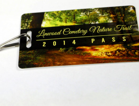 Example of Custom Season Pass for Nature Trail