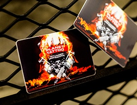 Tattoo business cards how to bring people in the door business card planet tattoog colourmoves
