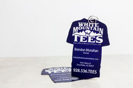 Business card design the most popular plastic business card options creative die cut business cards shaped like a t shirt for white mountain tees colourmoves