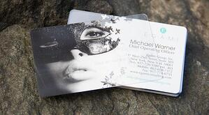 7 ways to make your business card stand out clear plastic business cards reheart Gallery