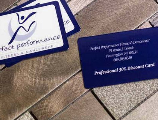 Example of professional discount cards