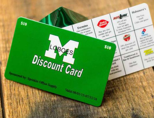 Example of non-profit fundraising cards