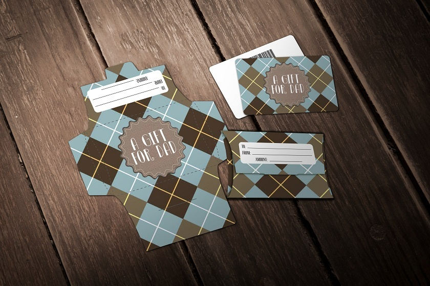 Father's Day - A Gift For Dad Plaid
