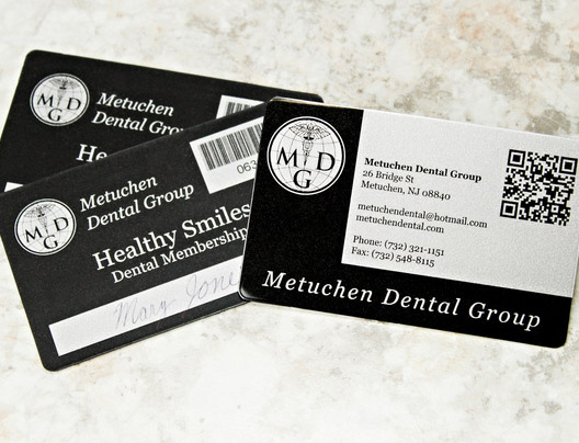 Example of medical marketing cards
