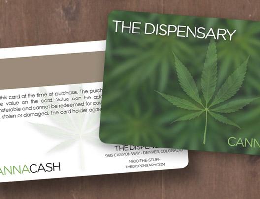 Example of medical marijuana card for The Dispensary