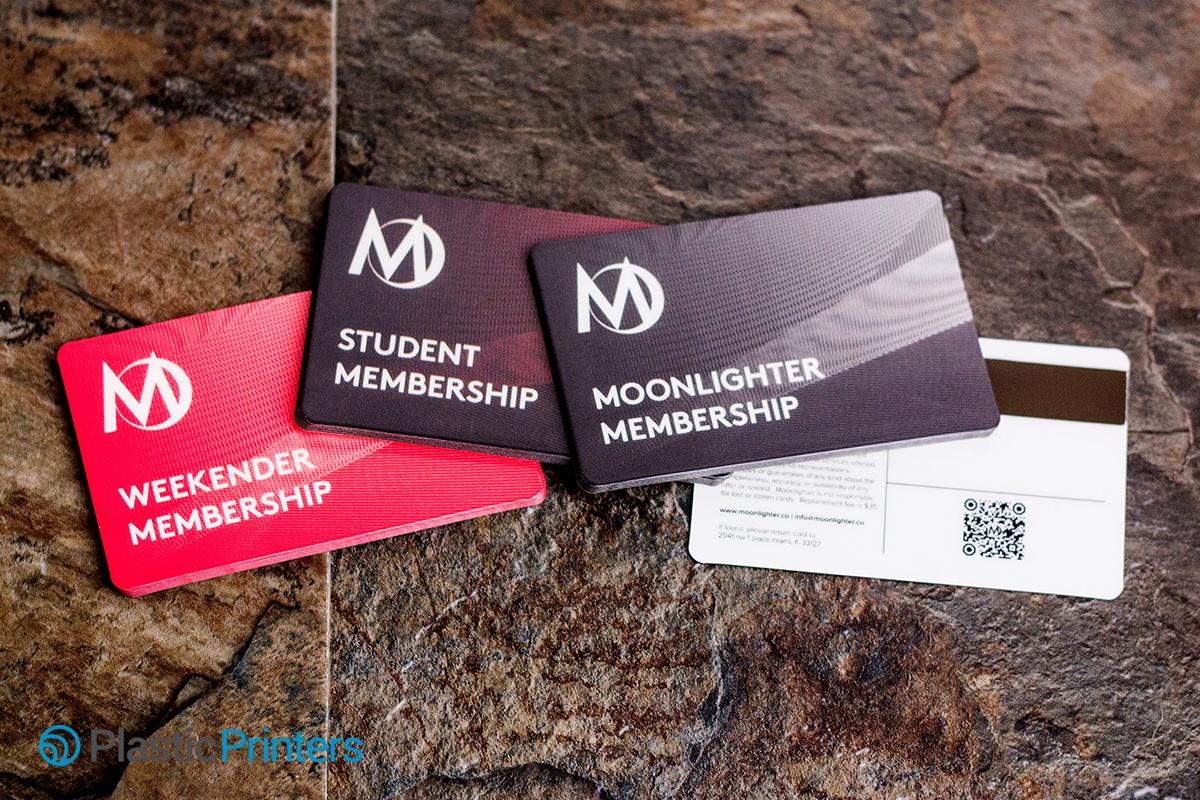 Tiered Membership Cards