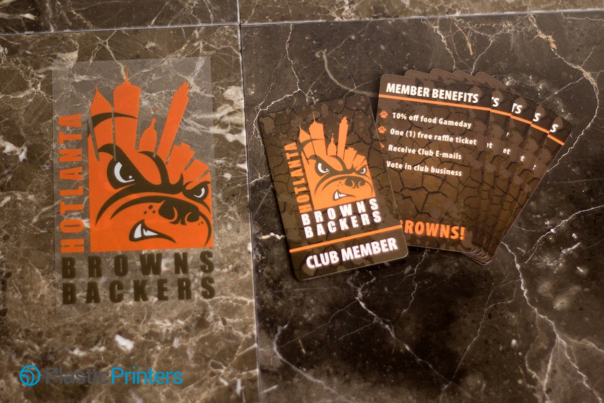 Window Clings and Membership Cards