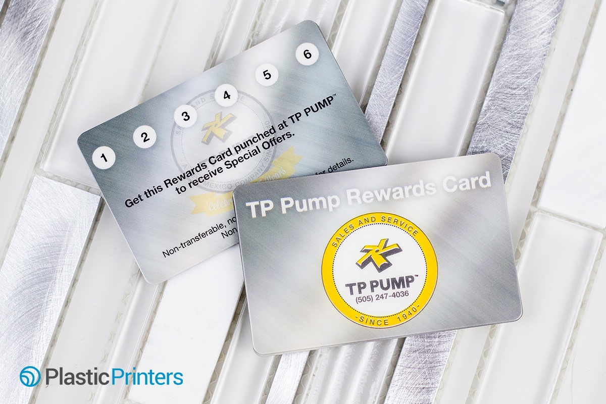 Rewards Punch Card