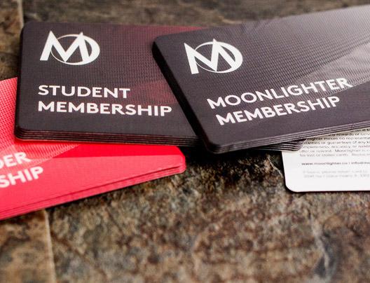 Example of custom membership card by Plastic Printers, Inc.