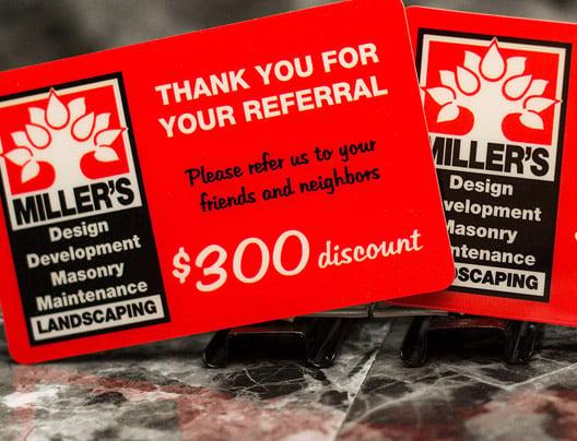 Example of rewards programs cards