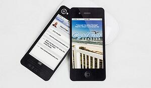 Free template of the week iphone business card iphone styled business card wajeb Choice Image