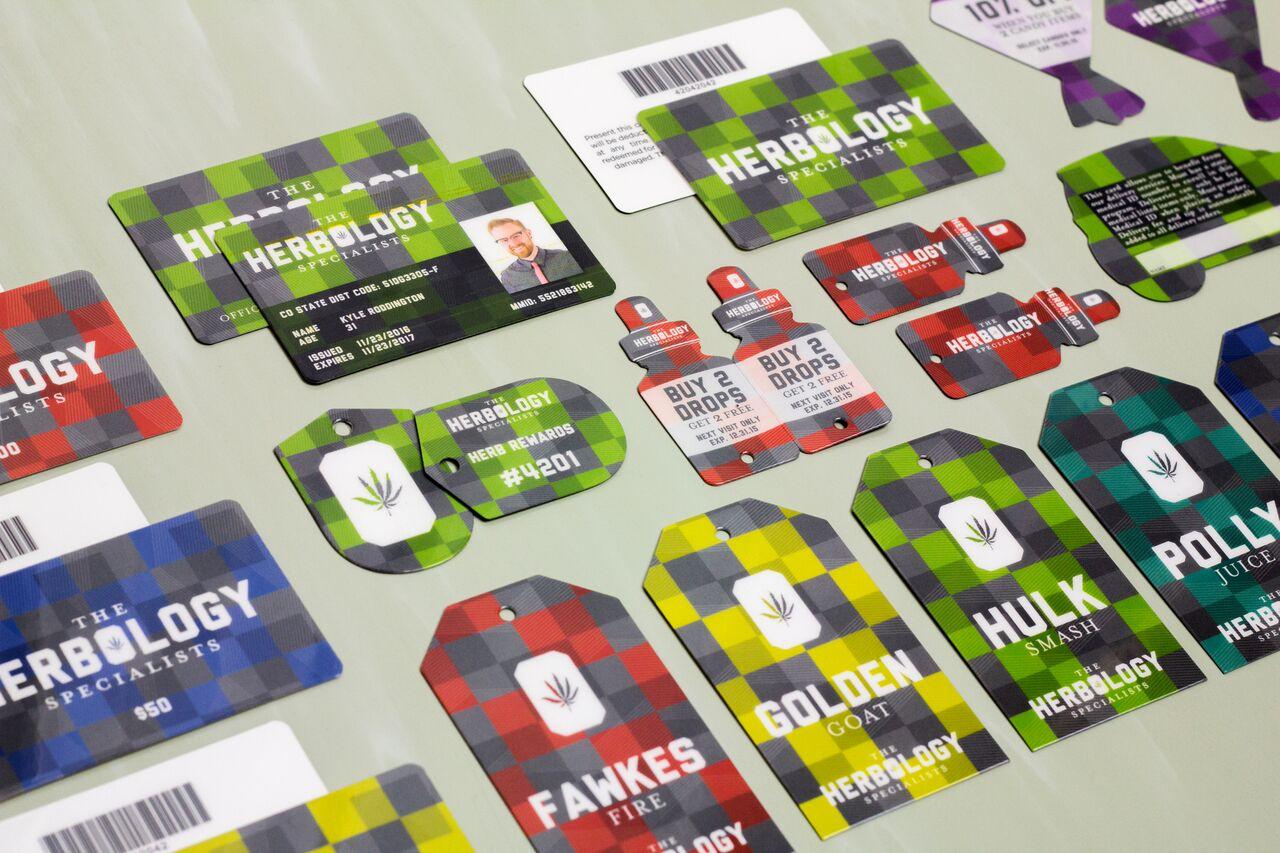 Example of custom retail marketing materials