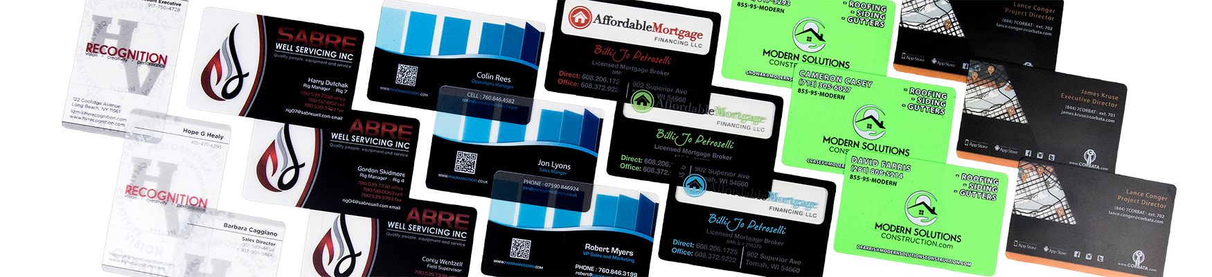 Request Quote for Custom Plastic Business Cards