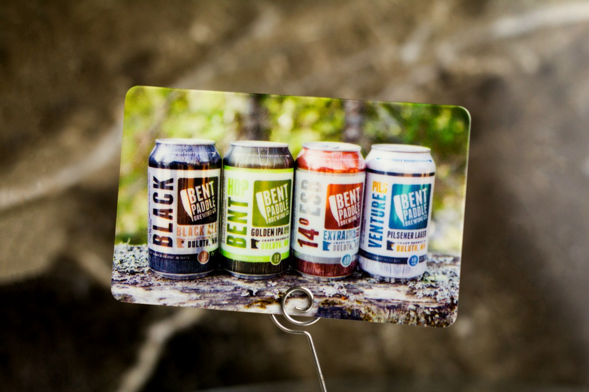 Example of brewery marketing pieces from Plastic Printers
