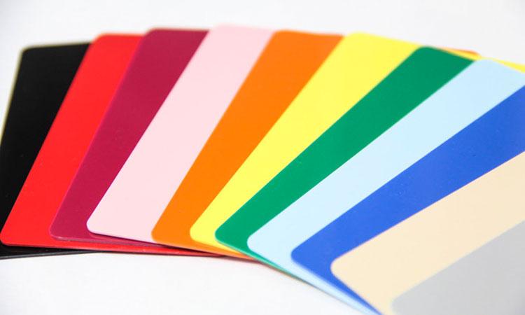 standard color palet choices