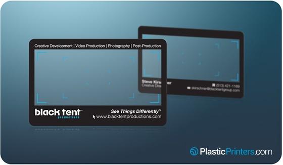20 Killer Plastic Business Card Designs