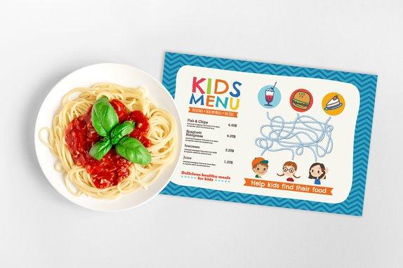 Restaurant Menus for Kids