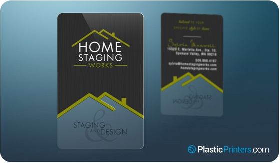 20 killer plastic business card designs. Black Bedroom Furniture Sets. Home Design Ideas
