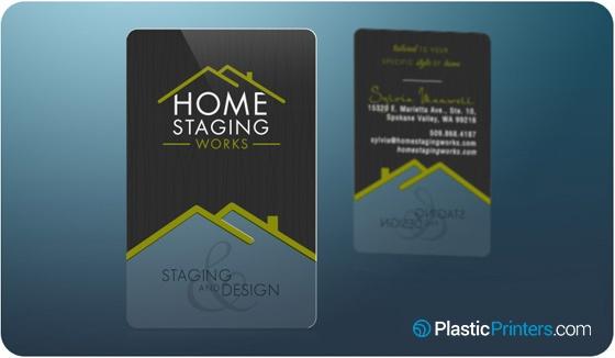 20 killer plastic business card designs home stagingg colourmoves