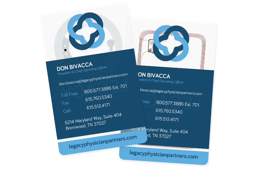 Legacy Physician Partners Smart Cards