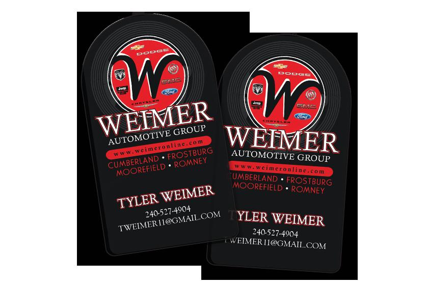 Weimer Automotive NFC Card