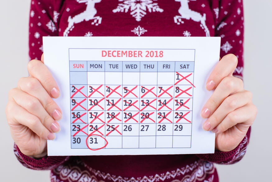 Run your holiday marketing until the end of December