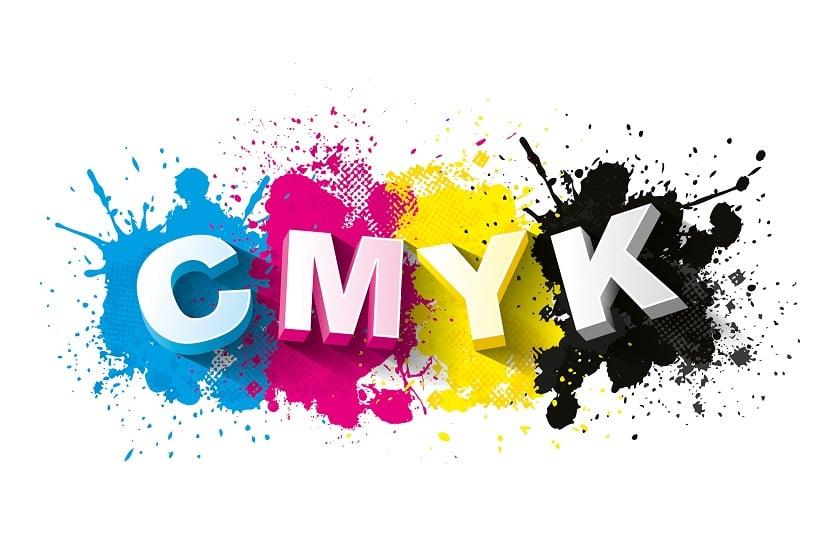 4/4 Printing Using CMYK Colors