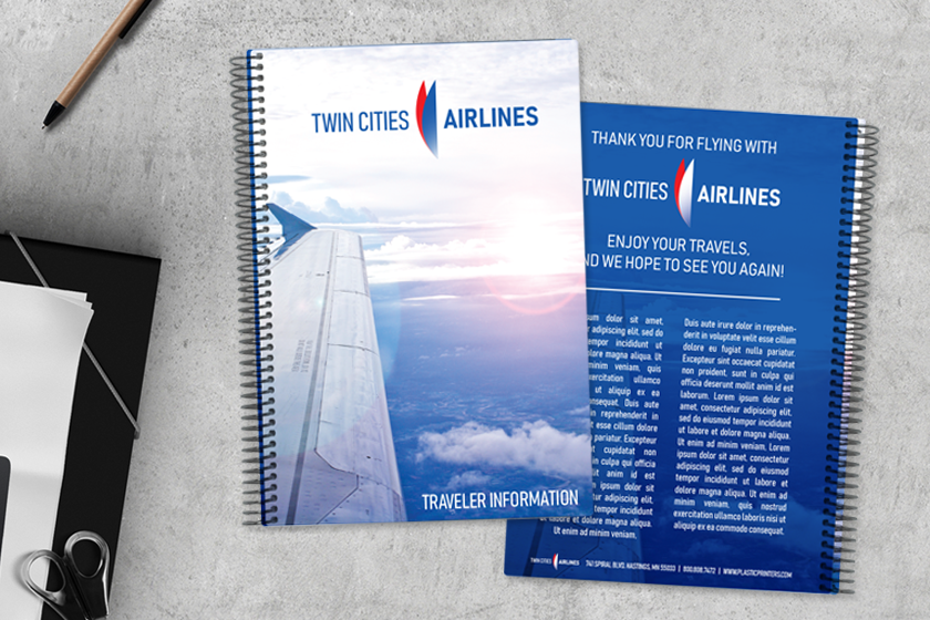Airline Guide and Information Booklet for Twin Cities Airline