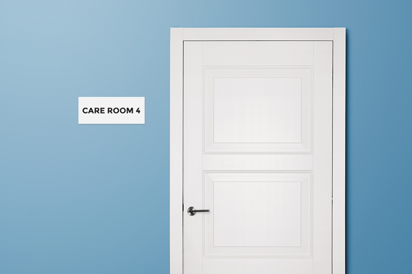 Room Number Sign for your Child Care Center