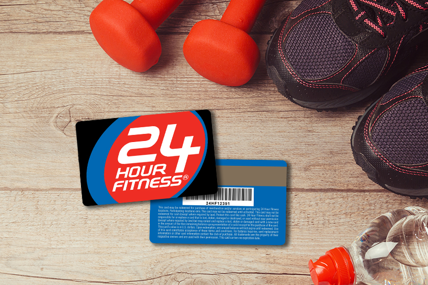 Access Cards for 24 Hour Fitness