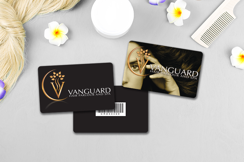 Spa gift card with an amazing gift card design