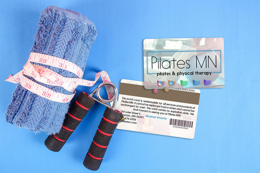Punch Card for Pilates MN