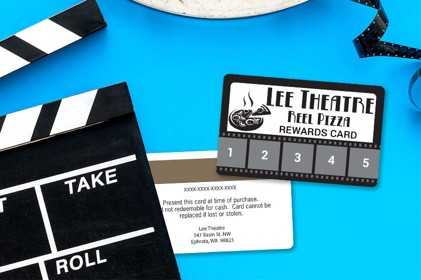 Punch Cards for your Movie Theatre